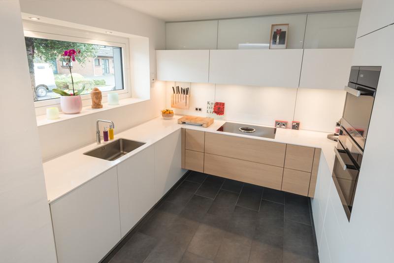 INTACT Küche in weiß